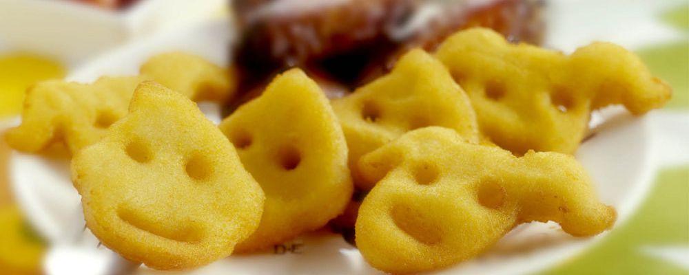 Bulviniai veidukai su vištienos sparneliais BBQ padaže